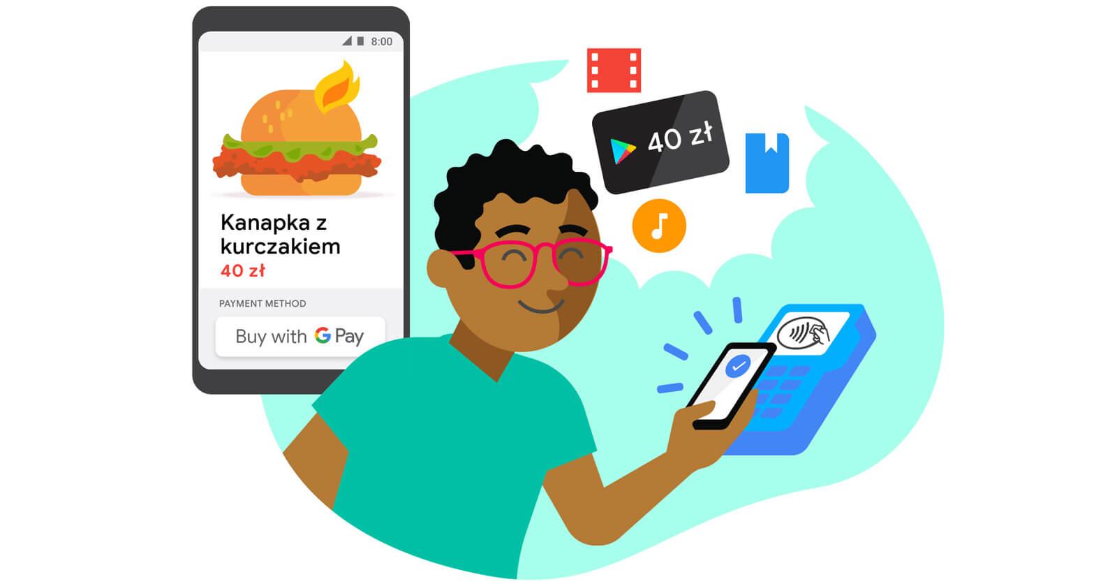 40 zł zniżki w Google Play za płatności Google Pay