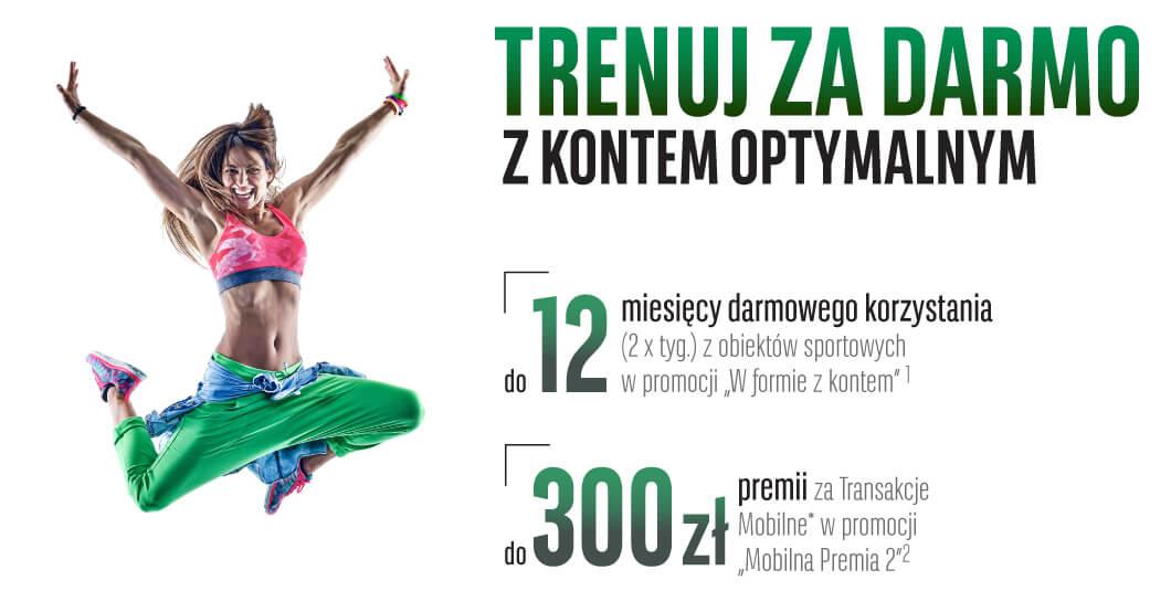 Trenuj za darmo przez 12 miesięcy z karnetem OK System od BGŻ BNP Paribas (i zgarnij dodatkowe 300 zł w formie moneybacku!)