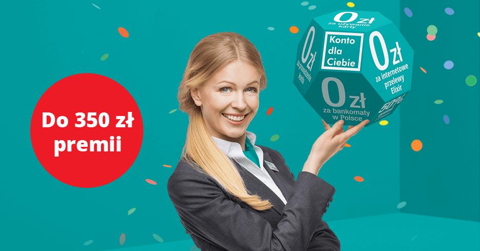 Do 350 zł za założenie nowego Konta dla Ciebie od Credit Agricole (i 3% do 100 000 zł na koncie oszczędnościowym!)