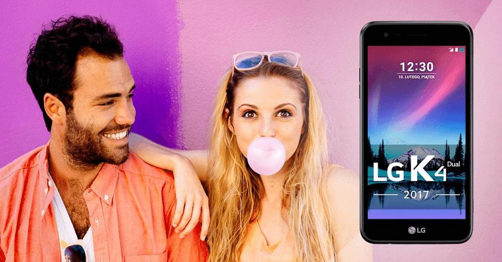 Smarfon LG K4 LTE 2017 Dual SIM za wyrobienie darmowej karty kredytowej Citi Simplicity od Citibanku