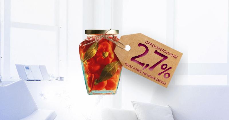 2,7% na Koncie Mocno Oszczędnościowym w Alior Banku