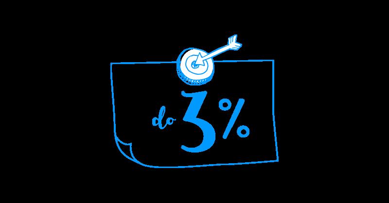 3% na Koncie Zośka Pro bez limitów kwotowych od Idea Bank