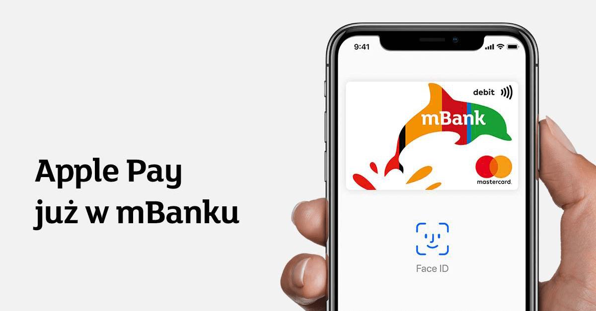 20 zł za 2 transakcje Apple Pay od mBanku