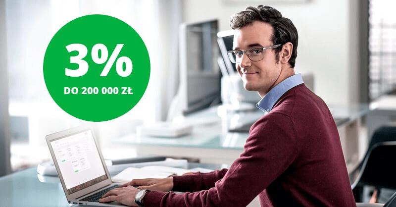 3% do 200 000 zł na koncie oszczędnościowym w Getin Banku