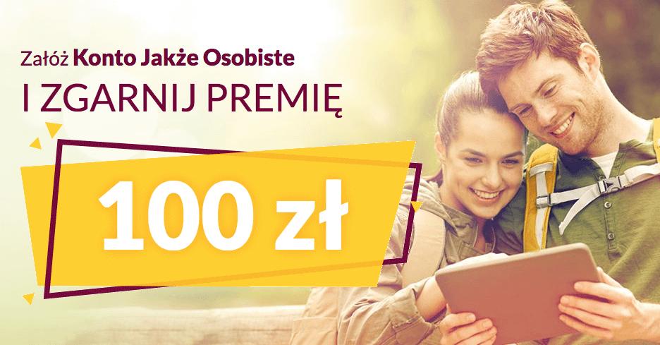 100 zł za założenie Konta Jakże Osobistego w Alior Banku od Bankier.pl