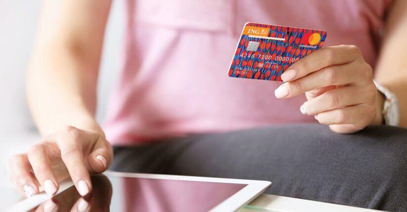 Do 160 zł za wyrobienie karty kredytowej Mastercard od ING Banku