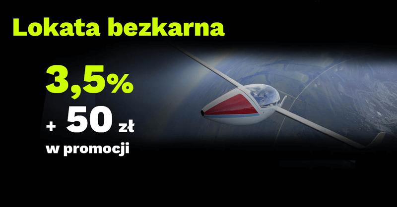 HIT! 50 zł za założenie Lokaty Bezkarnej 3,5% od BGŻOptima!
