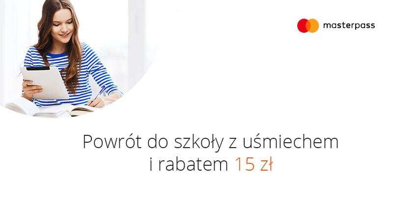 15 zł rabatu na ravelo.pl przy płatności MasterPass