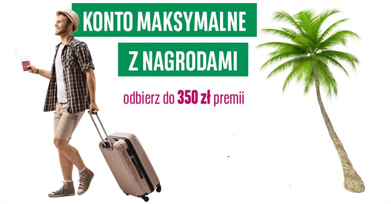 """Do 350 zł """"za aktywność"""" w kumulacji promocji Konta Maksymalnego BGŻ BNP Paribas!"""