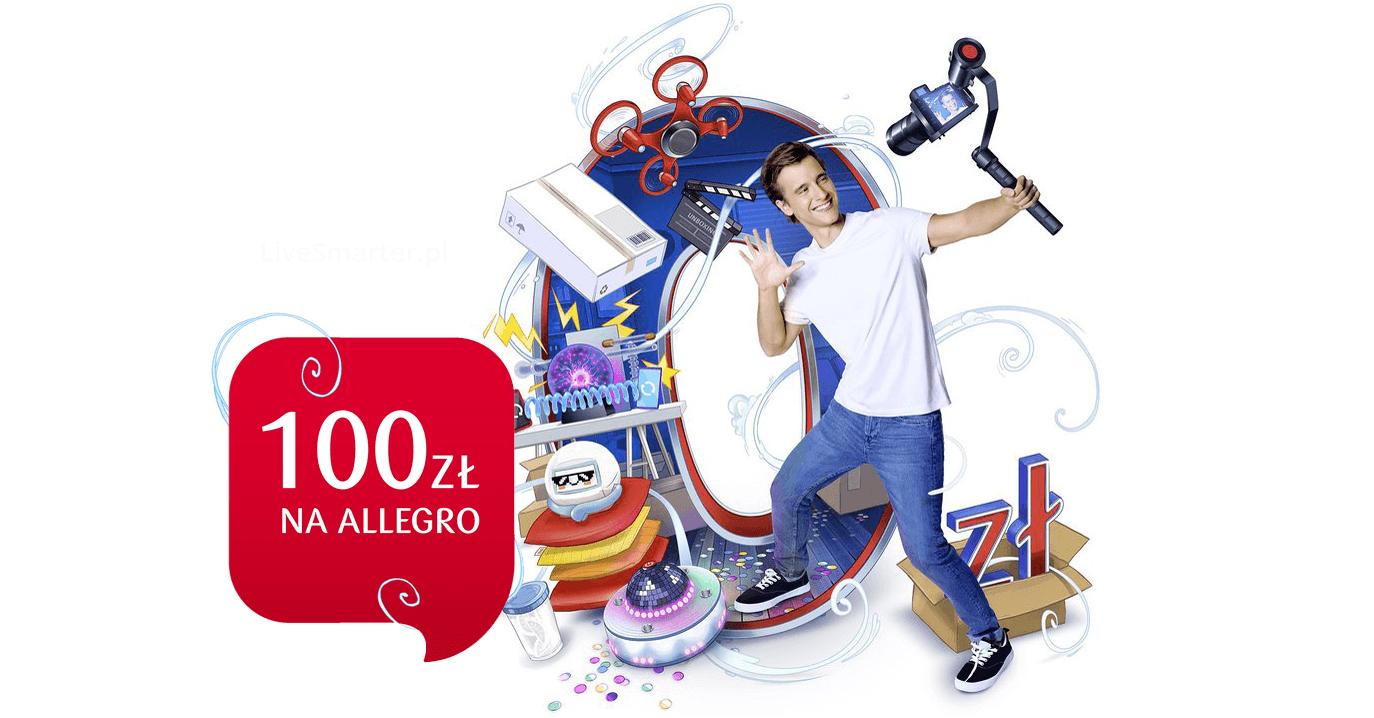 100 zł na Allegro za założenie PKO Konta dla Młodych