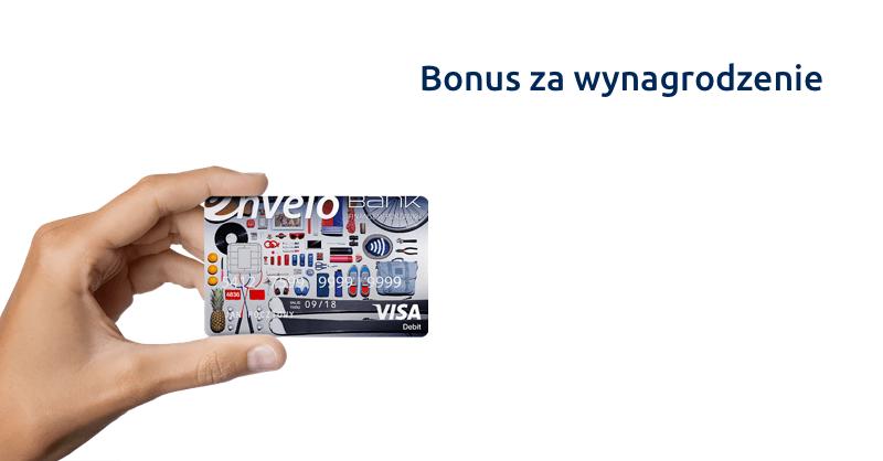 Bonus za wpływ wynagrodzenia - 120 zł od EnveloBanku
