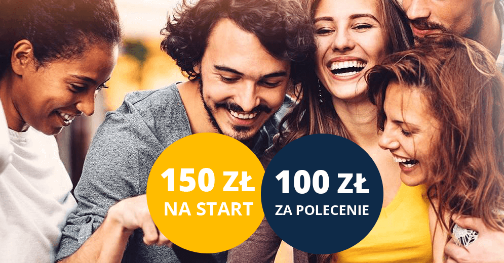 100 zł dla polecającego i 150 zł dla nowego klienta Citi Priority w programie poleceń Citibanku