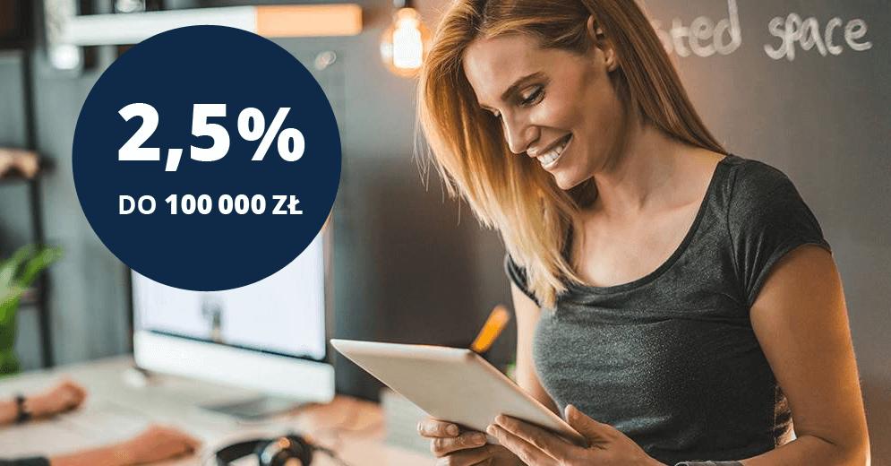 2,5% na koncie oszczędnościowym w Citibanku