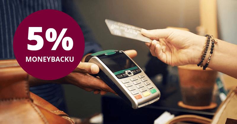 5% moneyback na karcie kredytowej OK od Alior Banku