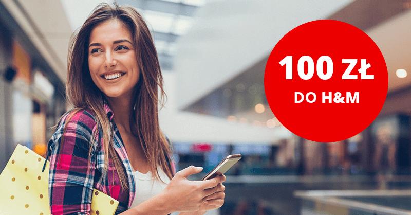 100 zł do H&M od Santander Bank Polska