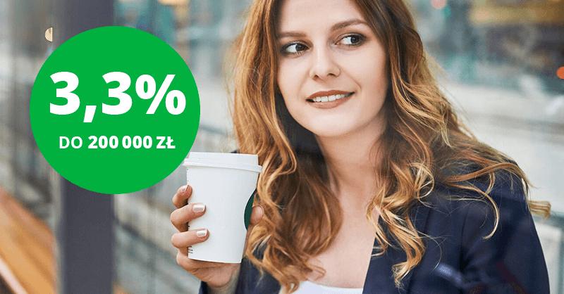 3,3% na e-Lokacie na nowe środki w Getin Banku