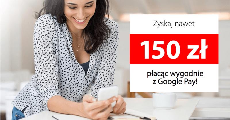 150 zł zniżki na mediaexpert.pl przy płatności Google Pay