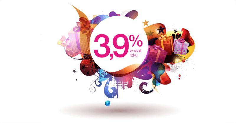 3.9% na Lokacie HIT dla nowych klientów Idea Banku