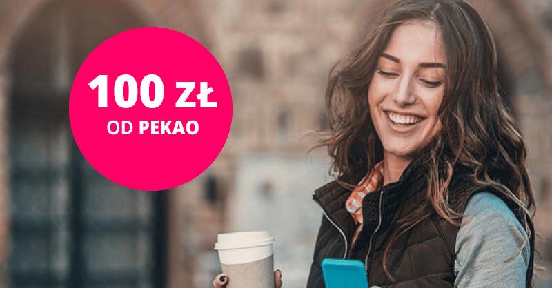 100 zł za Konto Przekorzystne od Pekao SA