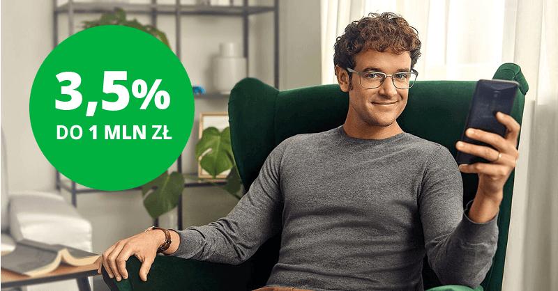 3.5% na e-Lokacie na nowe środki w Getin Banku