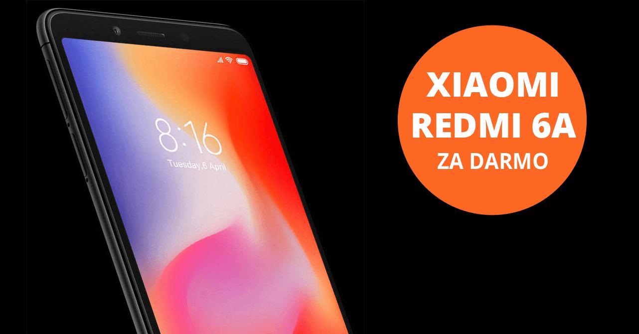 Xiaomi Redmi 6A 16GB za darmową kartę kredytową Citi Simplicity od Citibanku