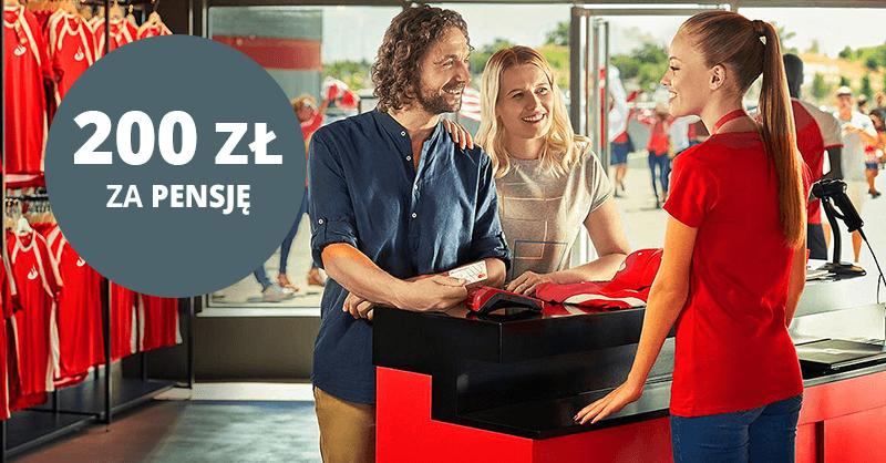 200 zł za wpływ wynagrodzenia od Santander Bank Polska