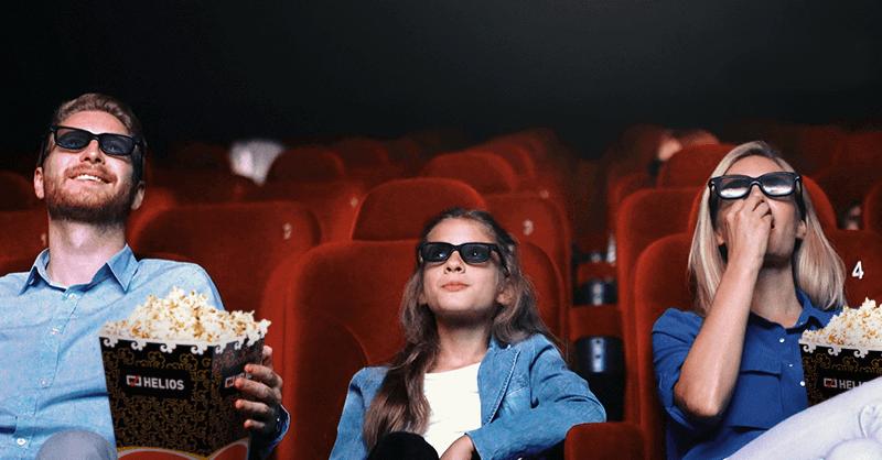 3 bilety do kin Helios za założenie Konta 360 Junior