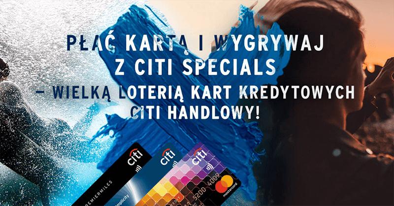 Citibank - loteria dla posiadaczy kart kredytowych