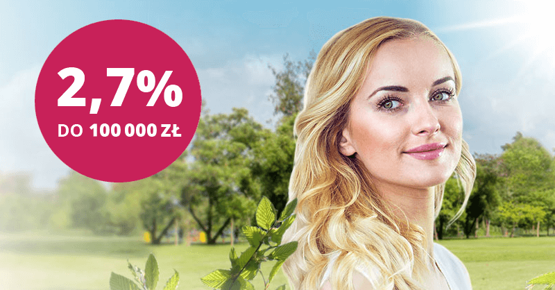 2,7% na koncie oszczędnościowym w Banku Millennium