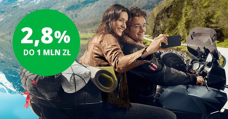 2,8% na e-Lokacie na nowe środki w Getin Banku