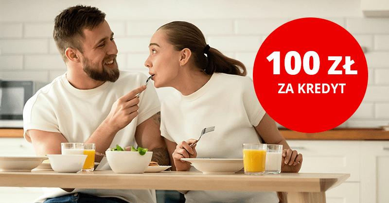 100 zł na pyszne.pl za kredyt w Santander Bank Polska