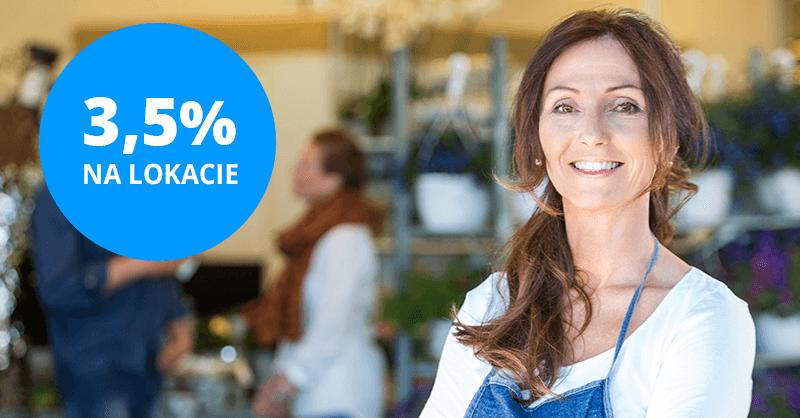 3,5% na Lokacie na nowe środki Plus w Idea Banku