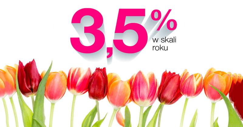 3,5% na Lokacie Wiosennej w Idea Banku – bez haczyków!