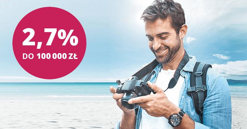 2,7% na koncie oszczędnościowym w Banku Millennium od 20 lipca 2019