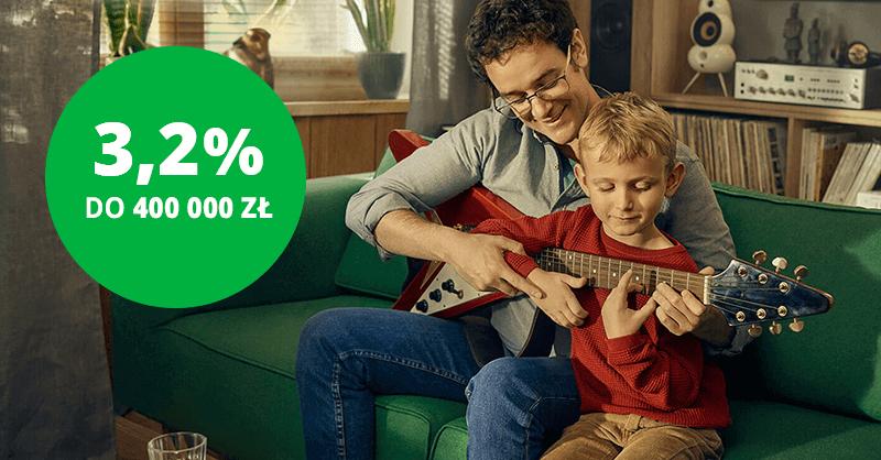 3,2% aż do 400 000 zł na koncie oszczędnościowym w Getin Banku (+50 zł na start)