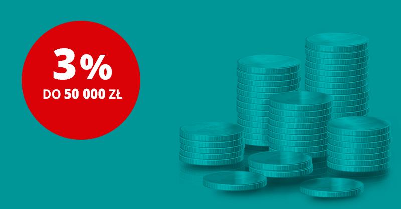 3% na rachunku oszczędzam w Credit Agricole
