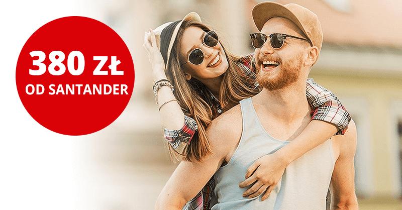 Nawet 380 zł za założenie Konta Jakie Chcę + 2,7% na koncie oszczędnościowym i do 300 zł moneybacku od Santander Bank Polska!