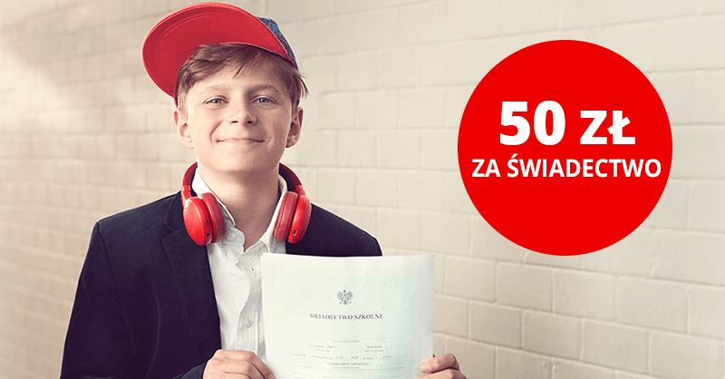 50 zł za świadectwo od Santander Bank Polska