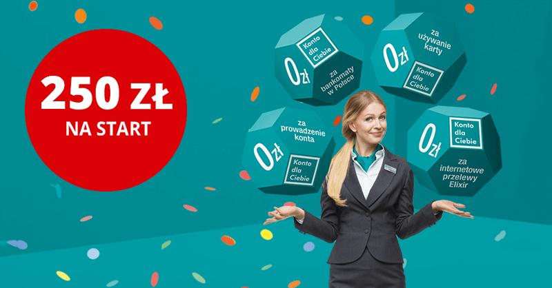 250 zł za założenie Konta dla Ciebie od Credit Agricole + nawet 500 zł dzięki LiveSmarter!