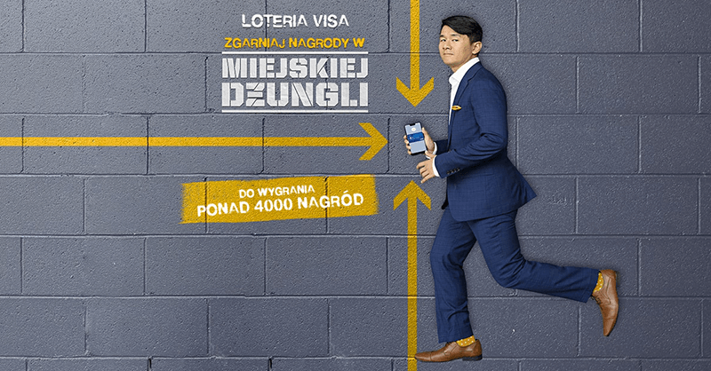 Loteria Visa: zgarniaj nagrody w miejskiej dżungli