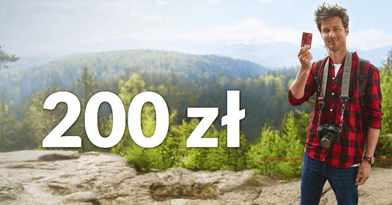 200 zł za założenie konta przekorzystnego w Pekao