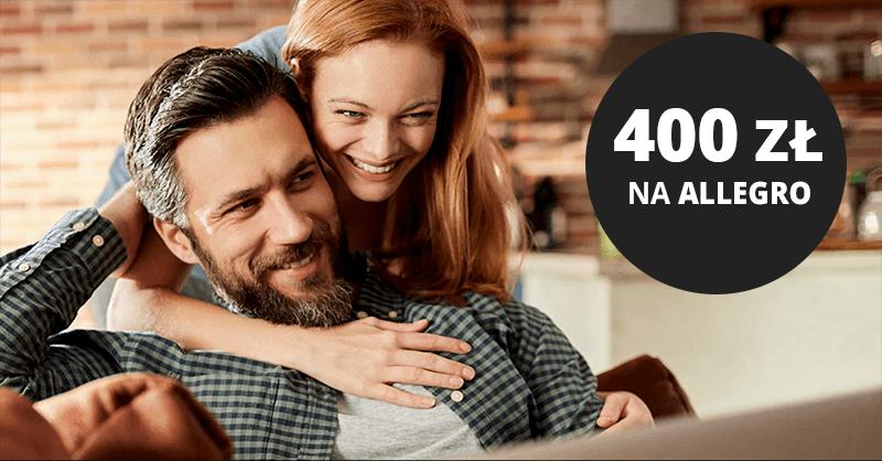 400 zł do wydania na Allegro za wyrobienie bezpłatnej karty kredytowej Citibanku