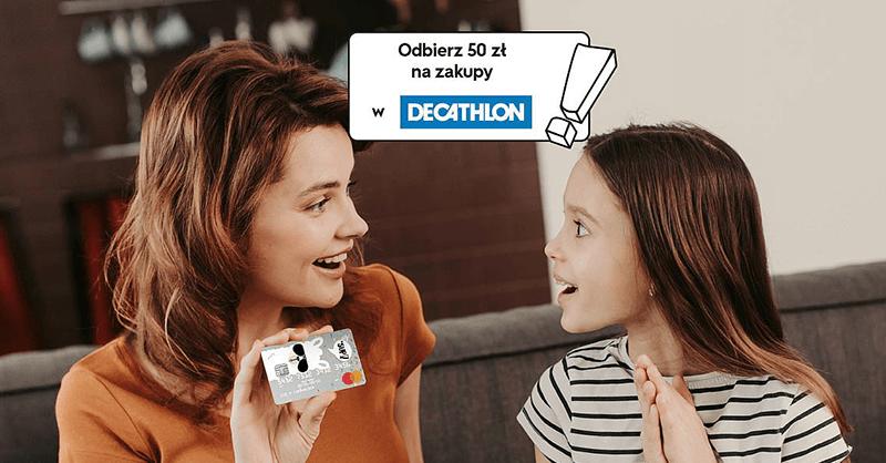 50 zł do sklepów Decathlon za założenie Konta Proste Zasady Junior dziecku