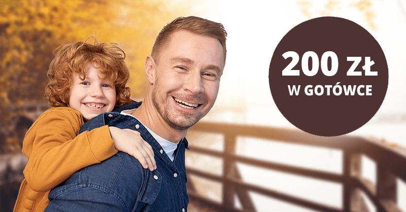 200 zł za założenie Nest Konta + 4% na Lokacie Witaj i do 5,7% na Nest Rodzinne Oszczędności