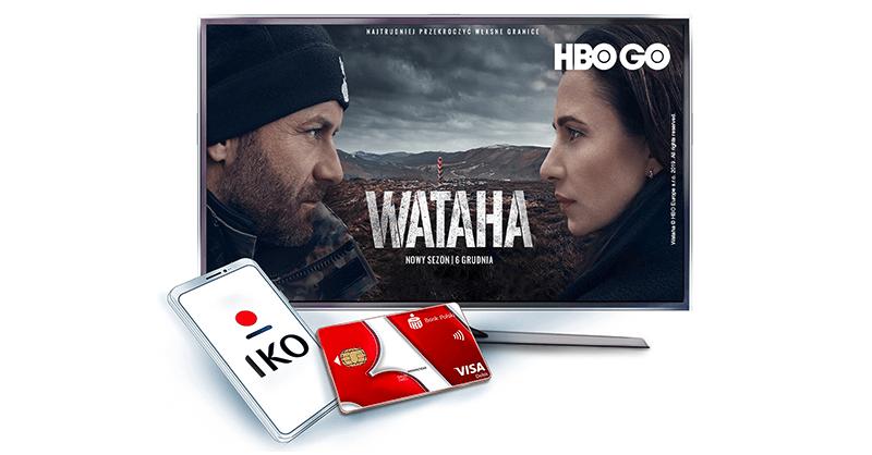 HBO GO na 30 dni za darmo od PKO BP