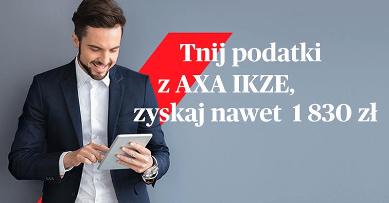 200 zł za otwarcie Indywidualnego Konta Zabezpieczenia Emerytalnego w AXA TFI
