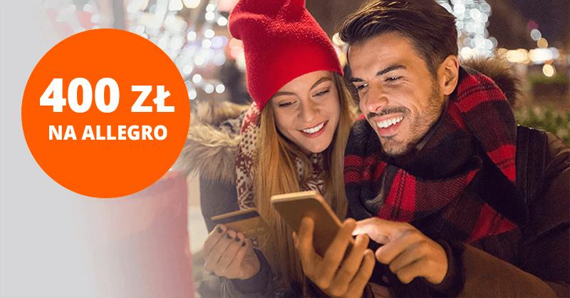 400 zł do wydania na Allegro za wyrobienie bezpłatnej karty Citi Simplicity ponownie dostępne