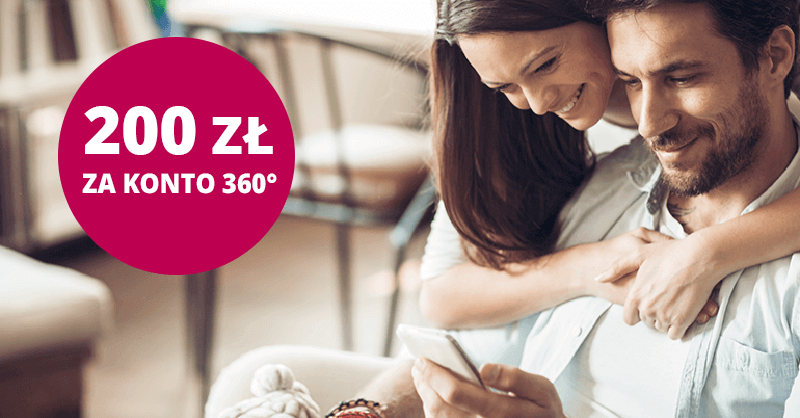 200 zł premii za założenie Konta 360° w Banku Millennium + do 960 zł za kartękredytowąi 2,7% na koncie oszczędnościowym!