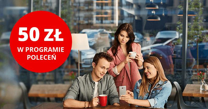 50 zł premii w programie poleceń Santander Bank