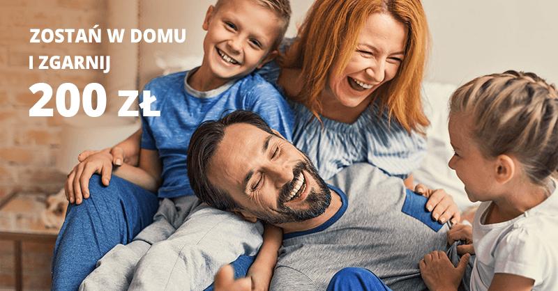 Zostań w domu i zgarnij 200 zł premii za założenie konta w BNP Paribas